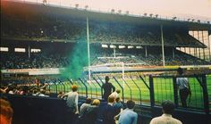 Everton pyro in the Goodison Park, Football Stadiums, Everton, Good Old, Best Games, Pictures, History, Casual, Style