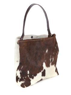 Regent Large Cowhide Tri-colour Handbag - front