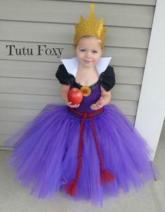 Evil Queen Tutu Dress Evil Queen Costume Snow White by TutuFoxy