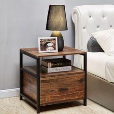 Bedroom Furniture, Home Furniture, Bedroom Decor, Furniture Makeover, Antique Furniture, Wood Nightstand, Nightstand Ideas, Nightstands, Muebles Living