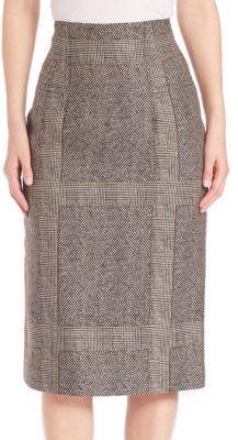 Creatures of the Wind Suomi Herringbone Pencil Skirt  Details: Polished pencil skirt in classic herringbone motif