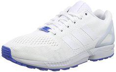 adidas ZX Flux, Herren Hallenschuhe, Weiß (Ftwr White/Ftwr White/Clear Grey), EU 41 1/3 - http://on-line-kaufen.de/adidas/41-1-3-eu-adidas-zx-flux-herren-hallenschuhe