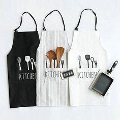Cotton Nordic Short Baking Kitchen Apron