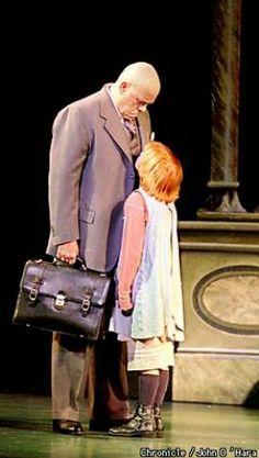 brittny kissinger | . Oliver Warbucks ( Conrad John Schuck ) and Annie (Brittny Kissinger ...