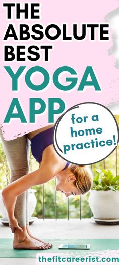 I love this app because I can practice any style of yoga I want, any time, anywhere! Whether I feel like a challenging vinyasa flow or a calming restorative class to destress, YogaDownload has it all. The only yoga app you'll ever need. Home exercise, healthy living, best health and fitness apps. #homeyoga #onlineyogaclasses #yogaforbeginners #yogapractice #yogapp Health And Fitness Apps, Online Yoga Classes, Types Of Yoga, Yoga Session, Yoga Routine, Yoga Challenge, Best Yoga, Yoga For Beginners, At Home Workouts