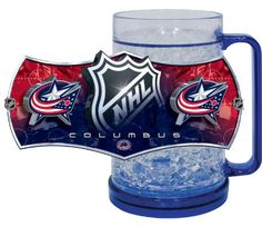 Columbus Blue Jackets Freezer Mugs