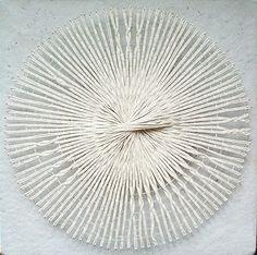 Day 69 woven yarn circle 365 enso