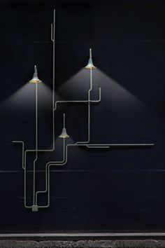 Since the beginning of 2015 this product is part of the collection of Danish brand &Tradition. It is a highly adaptable wall and ceiling lamp system that can be configured in multiple ways, and which can vary in expression from organic and whimsical, to geometric and austere. Light Forest comes in two versions: a ceiling option which can be assembled in four different combinations, and a wall version that can be assembled in two combinations. Its branches are made from extruded aluminium…