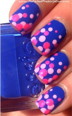 15 easy polka dot summer nail art ideas to get inspiration