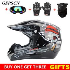 Full Face Helmet Bundle
