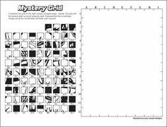 mystery grid drawing art project deer homeschool worksheetsart worksheetsprintable - Printable Drawing Worksheets
