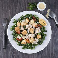 Kale & Chicken Caesar Salad