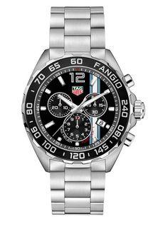 El triunfo de la precisión La firma suiza TAG Heuer conmemora el 60.º aniversario de la cuarta victoria consecutiva de Juan Manuel Fangio en el Campeo...