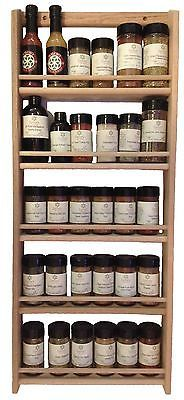 (Sturdily-constructed, wall-mount or counter top wood spice rack! This spice rack is ofunfinished solid. Includes Spice Rack--buy 2 and hang one. photo of rear side of spice rack). This is not considered a defect. Kitchen Spice Storage, Spice Rack Storage, Wall Spice Rack, Wooden Spice Rack, Spice Rack Organiser, Organizer, Kitchen Organization, Kitchen Rack, Storage Organization