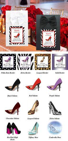 Stiletto High Heel Shoe candy shoppe boxes bags