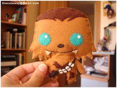 Wookie feltie