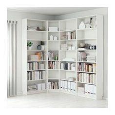 IKEA - BILLY, Librería, blanco, , Baldas regulables. Adapta el espacio entre las…