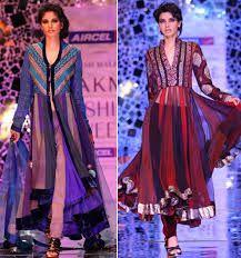 Blue IndiAN Designer Outfits