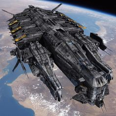 Mercenary Docking Ship