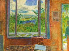 Pierre Bonnard - Fenêtre ouverte sur la Seine, Vernon 1911/12