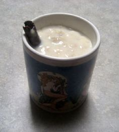Avena - Mexican Oatmeal drink.  This is so fulling and tasty in the morning. I change up the recipe just to add variety.  Soooo good.