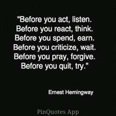 Great words !!