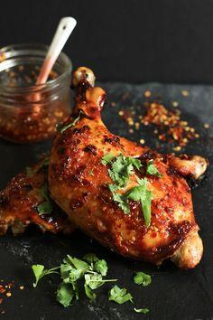 Sweet Thai Chili Roasted Chicken | Paleo