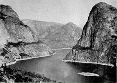 Hetch_Hetchy_reservoir.jpg, said to be the sister valley of Yosemite. Sierra Club fought to keep it pristine...but because of SF 1906 fire and increasing population...made into a dam. Said to have broken Muir's heart