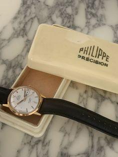 Montre Vintage Philippe Commandant de Bord Automatic Watch with original box Patek Philippe, Automatic Watch, Watches, The Originals, Box, Accessories, Vintage, Objects, Snare Drum