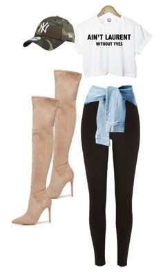 """""""untitled no. 20th 4"""" by amanimilani on Polyvore featuring Yves Saint Laurent, Kendall + Kylie and River Island"""