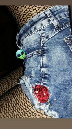 Denim Shorts, Women, Fashion, Moda, Women's, Fasion, Trendy Fashion, La Mode, Jean Shorts
