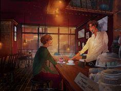 Baekhyun, hoşlandığı uzun adamın kafesine gider ve tek bakışla onu ba… #kısahikaye # Kısa Hikaye # amreading # books # wattpad