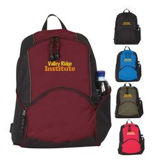 On The Move Backpack.  Personalized  Promotional  Backpack with your Logo.  Enhance b11dc1d4618e8