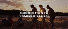 Aboriginal & Torres Strait Islander people's belief system integrates the spiritual with the material, emphasising the individuals relationship to community