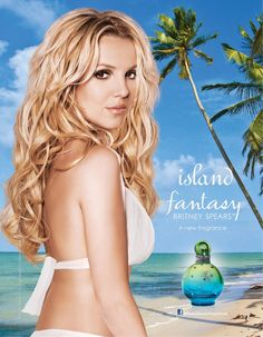 Island Fantasy Britney Spears perfume - a new fragrance for women 2013