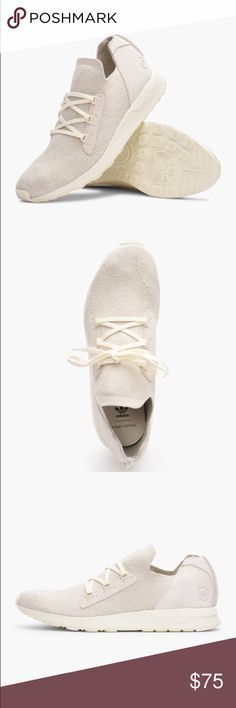 various colors 712bc 14aa0 Adidas ZX Flux Wings   Horns Bb3752 Size 10 Brand New! Pearly white with box