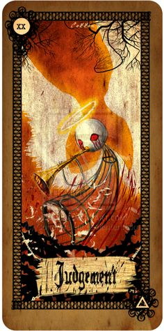 20 Judgement Tarot card - Judgement by CottonValent.deviantart.com