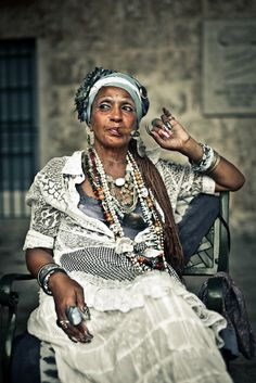 Woman in Havana ❤ Some destinations remain for good in ours memory, Cuba is one of them. http://Netssa.comI