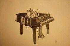 """Dommin """"Dark Holiday"""" Pencil Art"""