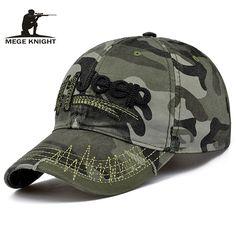 5ff44a977d2 MEGE Men and Women Baseball Cap Camouflage Hat Gorras Militares Hombre  Adjustable Snapbacks Caps casquette de