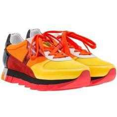 Dolce Gabbana Capri Sneakers (795 BAM) ❤ liked on Polyvore featuring shoes, sneakers, dolce gabbana shoes and dolce gabbana sneakers