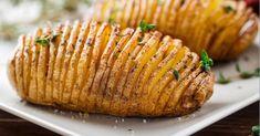 La pomme de terre au four modèle accordéon...Mmmmm