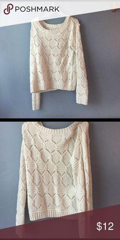 Cream Sweater NWOT no flaws JJ basics Sweaters Crew & Scoop Necks