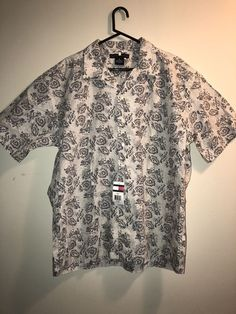 Tommy Hilfiger Men's Shirt Size XL Beach Theme Button Up S/S NWT | Clothing, Shoes & Accessories, Men's Clothing, Casual Shirts | eBay!