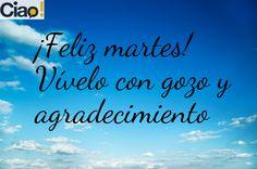 #felizmartes #happytuesday