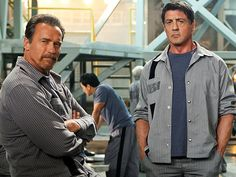 Escape Plan... Enjoyed the movie as it has my hero Stallone & my wife's favourite Arnold...