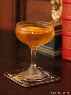 Jimmy Lillet • TheDustyRebel - 2 oz Jameson Irish Whiskey, 1 oz blonde Lillet, 1 tsp Cointreau, 2 dashes orange bitters