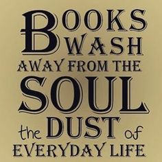 ...the dust of everyday life.