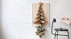 Der Päckchenbaum ist der neue Adventskalender in unserem Zuhause und hängt wie ein großes Pop-up Bild eingerahmt an der Wand. Vielleicht auch bald bei euch?