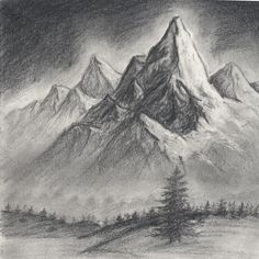 How To Draw A Realistic Landscape Draw Realistic Mountains